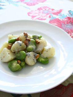 【ELLE a table】新じゃがとそら豆のサラダ、ゴルゴンゾーラソースレシピ|エル・オンライン