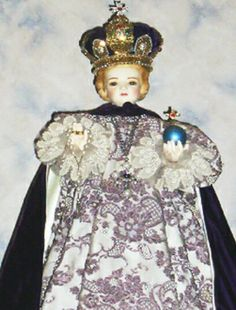 Infant Jesus of Prague smuggled out of Czechoslovacia during WW 2