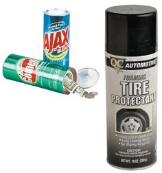 Tire Shine Safe Can