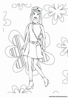 Barbie In The Dreamhouse Coloring Sheets Coloring Pages