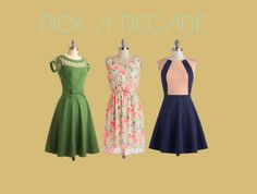 How to create your Dapper Day Outfit, I absolutely LOVE that green dress!