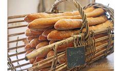 Kitchen Decor, French Bread Photo, Bakery Photograph, Food Photography, Baguette Basket Photo, Still Life, Kitchen Art, 5x7 Fine Art Print