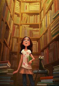 Library illustration via www.Facebook.com/GleamOfDreams