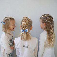 Itsenäisyyspäivä kampaukset. ribbon braids, nauhalettejä, 5 strand ribbon braid, 4 strand pull through braid, 4 strand lace braid, 5 osainen nauhaletti, 4 osainen läpivetoletti ja puolihollantilainen letti