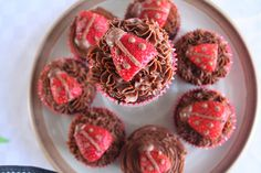 Happy Birthday! Chocolate Cupcakes with Chocolate Icing (Gluten, Grain and Refined Sugar Free)