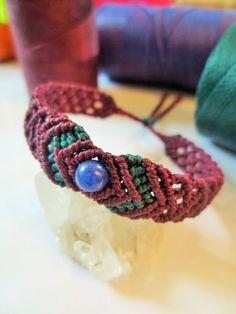 Sodalite & Plum Friendship/Love/Surf Bracelet por PapachoCreations