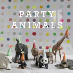 party animals - cute theme for party