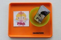 Princess color puzzles