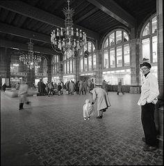 Amsterdam centraal 1956