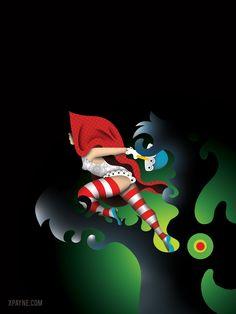 Fairy Tale Mood Red Ridding Hood, Big Bad Wolf, Dreamworks Animation, Sump, Red Hood, Disney Marvel, Little Red, Werewolf, Love Art