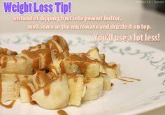 Peanut Butter Weight Loss Tip #weightlosstips