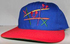 Mickey Mac Mouse Tic Tac Toe Vintage 90's Goofy's Hat Co. Snapback Hat Cap #GoofysHatCo #BaseballCap Tic Tac Toe, Hats For Sale, Snapback Hats, Baseball Cap, Mac, Accessories, Vintage, Fashion, Baseball Hat