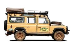 Camel Trophy Defender 110 w/ Roll Cage: external A, internal B, possibly internal C and D too