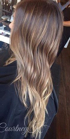 light light brunette or dark dark blonde hair color
