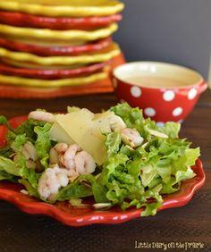 Steakhouse Shrimp Salad! Elegant enough for classy dinners...simple enough for everyday!