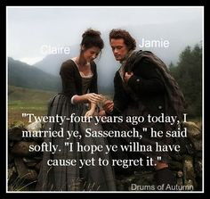 Drums of Autumn #Jamie and Claire