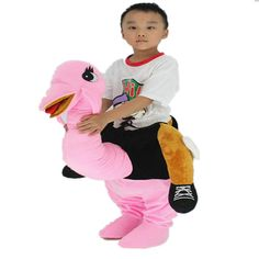 yunzhenbusiness Kids Ostrich Dress up Riding Costume Halloween Fancy Dress SS100120CM/39.347.2Inch Pink -- See this fantastic product. (This is an affiliate link ). Halloween Fancy Dress, Costume Halloween, Children Costumes, Dress Up, Link, Infant Costumes, Costume, Baby Costumes