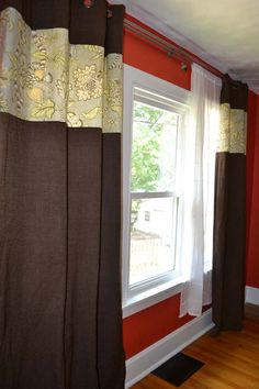 Lansdowne Life: Customizing and lengthening store-bought curtain panels