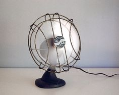 1950s Cast Iron Fan Le John Vintage Electronics by CalloohCallay