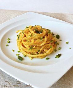 Spaghetti in salsa di zucca
