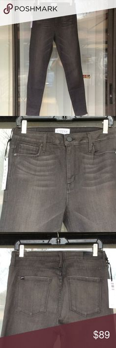 Parker Smith bombshell skinny high waist jeans nwt New,grey color PARKER SMITH Jeans Skinny