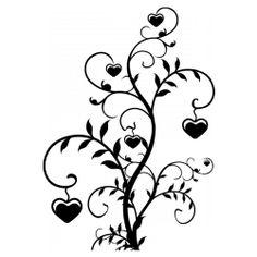 Sticker Arbre de l'amour