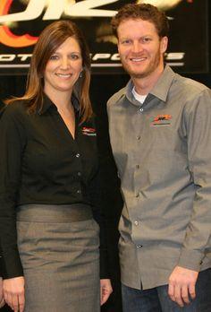 Kelley & Dale Earnhardt Jr