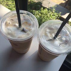 // yummy in my tummy // Coffee Latte, Starbucks Coffee, Hot Coffee, Iced Coffee, Coffee Drinks, Coffee Time, Coffee Shop, Starbucks Drinks, Aesthetic Coffee