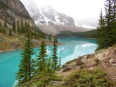 Reader Alex Sokolow submitted this photo of Moraine Lake in Canada's Banff National Park. Read more about the photo here: http://on.msnbc.com/u459Mz