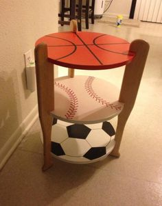 I would change the soccer ball to a tennis ball