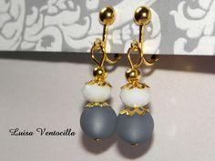 Elegante Ohrclips von Luisa Ventocilla Shop auf DaWanda.com