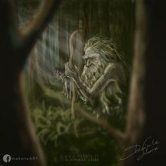 LESZY - Slavic Demonology forest demon