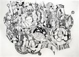 Anthony Ballard, White Columns, 07/2015 Anthony Ballard Art (1944-2008) Geometric Art, Rapidograph Pen and Ink. Erotic Art, Poet and Writer. Please call Fountain Gallery NYC for details