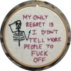 My only regret