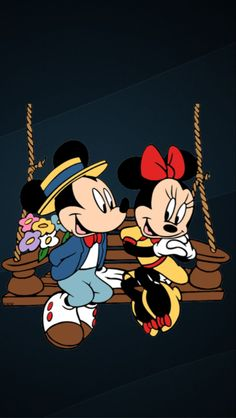 Cartoon Wallpaper Iphone, Kitty Wallpaper, Disney Wallpaper, Disney Pins, Disney Art, Walt Disney, Disney Couples, Disney Addict, Mickey And Friends