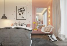Inspiration for a modern kids room