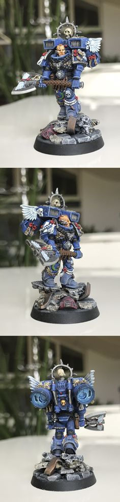 Captain of the Ultramarines Lord Executioner
