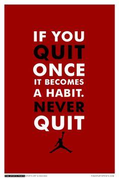 """Michael Jordan Quote on Print. See more at www.finesportsprints.com #bulls #sportsquote #jordan"""