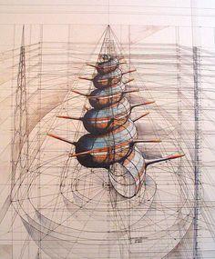 Complex works of the Venezuelan artist Rafael Araujo