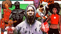 The players behind Black Panther, Luke Cage, and Marvel Comics reflect on how black voices matter.