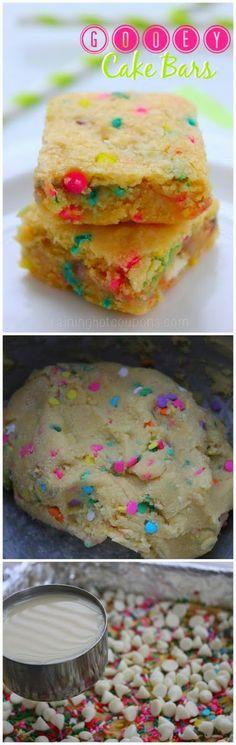 How To Gooey Cake Bars