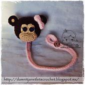 Monkey Pacifier Holder $1.75