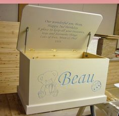 Personalised toy boxes | busy bee workshopbusy bee workshop