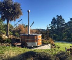Stoked Hot Tub - Cedar fire hot tubs for 6 people - Stoked Stainless - New Zealand outdoor hot tubs-min