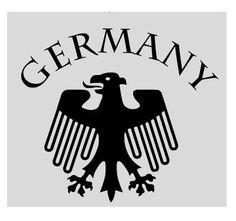 Aufkleber Germany / mehr Infos auf: www.Guntia-Militaria-Shop.de