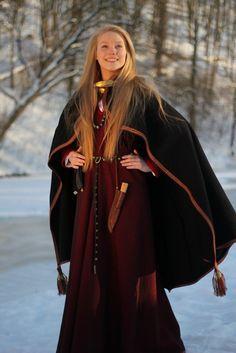 Curonian teritory costume, XIII-XIV century, author - PhD Daiva Steponaviciene