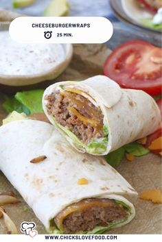 Cheeseburgerwraps Mississippi Sin Ham Sliders - Delicious ham sliders with a zesty cheesy topping - just like the Mississippi Sin Dip! Cheeseburger Wraps, Lunch Recipes, Meat Recipes, Healthy Recipes, Easy Diner, Lunch Restaurants, Lunch Wraps, Homemade Hamburgers, Good Foods To Eat