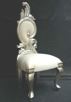 sometimes a funky chair or two are just the right amount of fun to a room...just not this chair