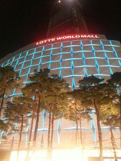 #lotteworldmall #seoul southkorea #nightview 123floor