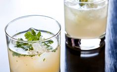 Add some ginger syrup to your cocktails.